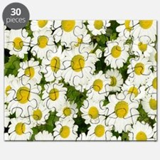 white daises Puzzle