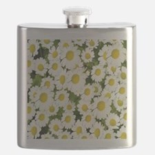 white daises Flask