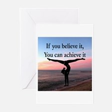 GYMNAST INSPIRATION Greeting Cards (Pk of 10)