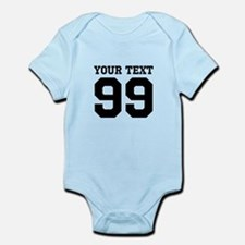 Custom Sports Jersey Number Body Suit