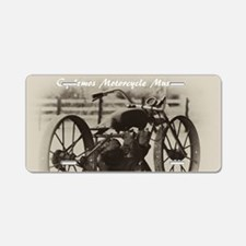 Photo restoration Aluminum License Plate