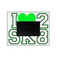 Love to Skate (Lime/Blk) Picture Frame