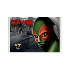 FROG-MAN Rectangle Magnet (100 pack)