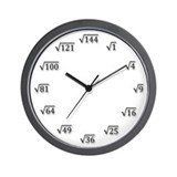 Square root clock Wall Clocks