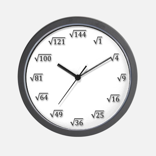 Square Root Clock