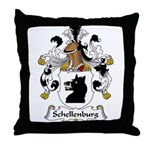 Schellenburg Family Crest Throw Pillow