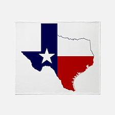 Great Texas Throw Blanket