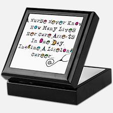 Retired Nurse Poem Keepsake Box