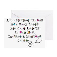 Retired Nurse Poem Greeting Cards