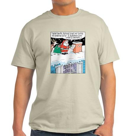 Red Sox Santa Ash Grey T-Shirt