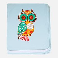 Who Me Owl baby blanket