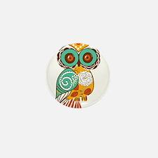 Who Me Owl Mini Button