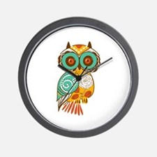Who Me Owl Wall Clock