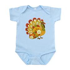 Happy Thanksgiving Infant Bodysuit