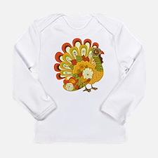 Happy Thanksgiving Long Sleeve Infant T-Shirt