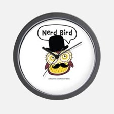 Nerd Bird Wall Clock