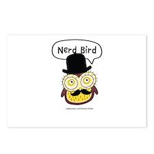 Nerd Bird Postcards (Package of 8)