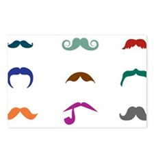 Mustaches Postcards (Package of 8)