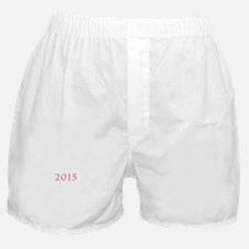 2015 Tab Red Boxer Shorts