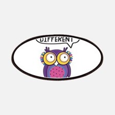 Dare to be different Owl Patch