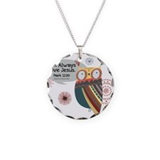 Owl Always Love Jesus Owl Necklace