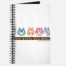 Whoo Loves you baby Owl Journal