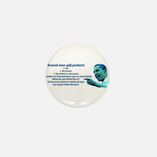 Armed men Mini Button (100 pack)