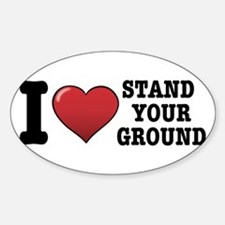 I love Stand Your Ground Decal