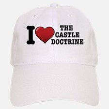 I love the Castle Doctrine Baseball Baseball Cap