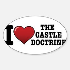 I love the Castle Doctrine Decal