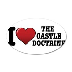 I love the Castle Doctrine Wall Decal
