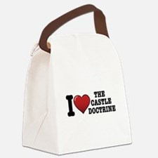 I love the Castle Doctrine Canvas Lunch Bag