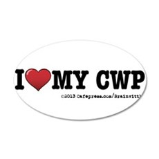 I love my CWP Wall Decal