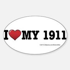 I love my 1911 Decal