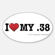 I love my .38 Decal