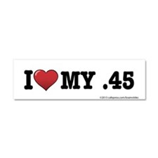 I love my .45 Car Magnet 10 x 3