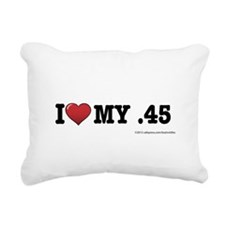 I love my .45 Rectangular Canvas Pillow