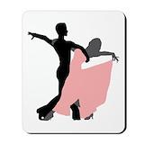 Ballroom dancing Mouse Pads