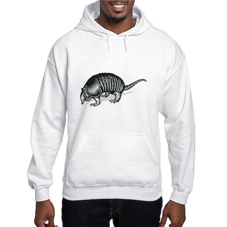 Realistic Armadillo Hooded Sweatshirt