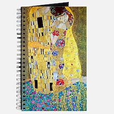 The Kiss by Gustav Klimt, Vintage Art Nouv Journal