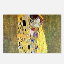 The Kiss by Gustav Klimt, Postcards (Package of 8)
