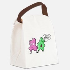 Ow My Toes Canvas Lunch Bag