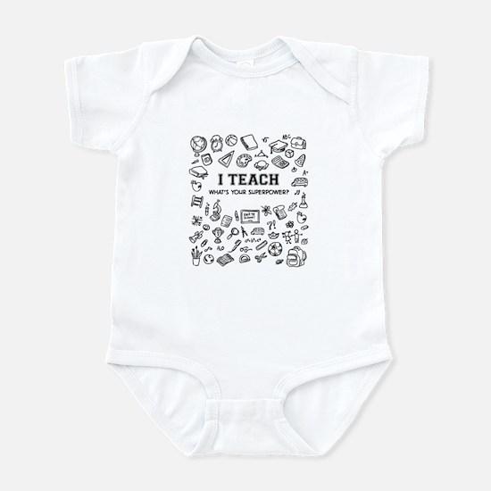 Superhero Teacher Infant Bodysuit