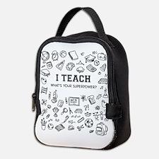 Superhero Teacher Neoprene Lunch Bag