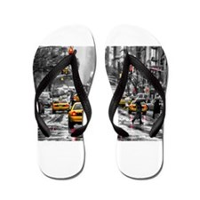 Unique Us cities Flip Flops