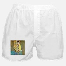 The Kiss by Gustav Klimt, Vintage Art Boxer Shorts