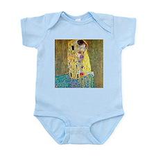 The Kiss by Gustav Klimt, Vintage Art No Body Suit