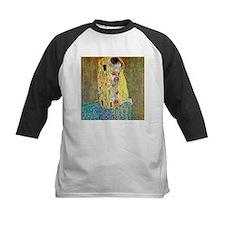 The Kiss by Gustav Klimt, Vintage Baseball Jersey