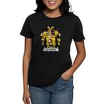 Schedel Family Crest Women's Dark T-Shirt