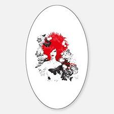 Unique Cheech chong Sticker (Oval)